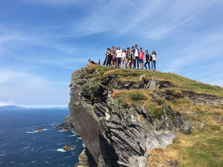 Outdoor activity cliff