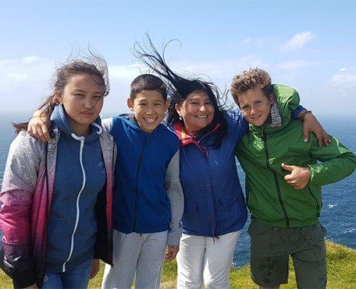 Asana students